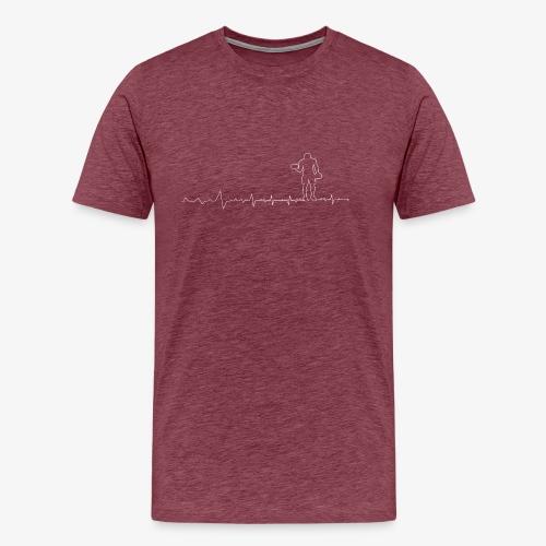 Heartbeat Pulse Fitness - Men's Premium T-Shirt