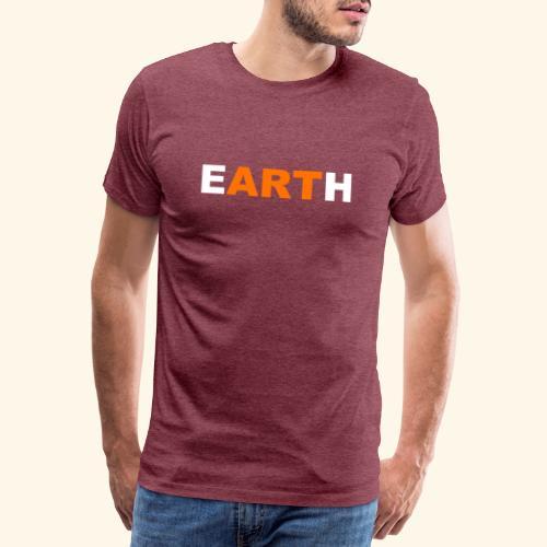 eARTh - Premium-T-shirt herr