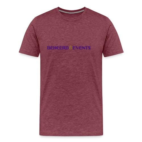 logo shirt events - Mannen Premium T-shirt
