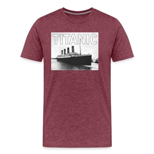 TITANIC sw - Männer Premium T-Shirt