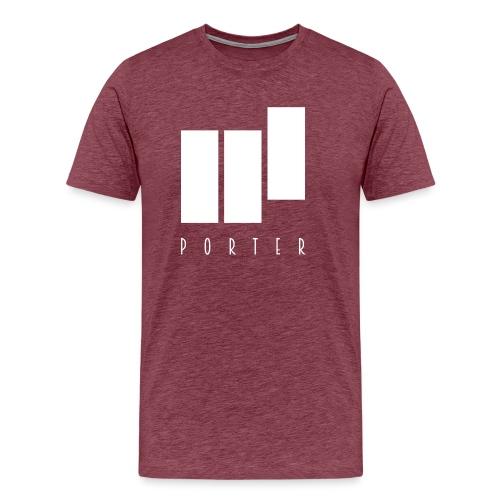 PORTER Sign White - Männer Premium T-Shirt