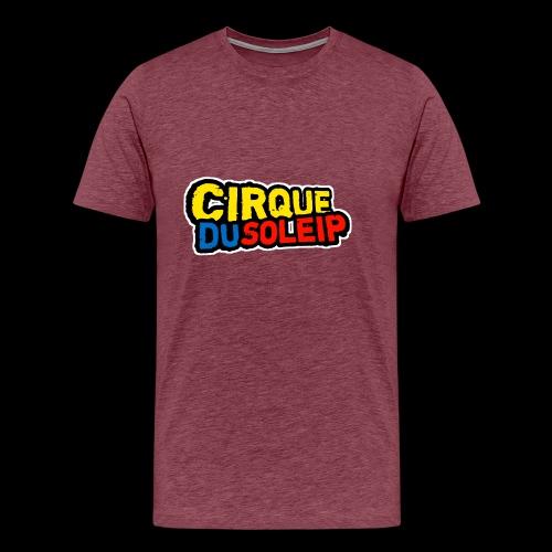 Cirque Du Soleip Letters - Mannen Premium T-shirt