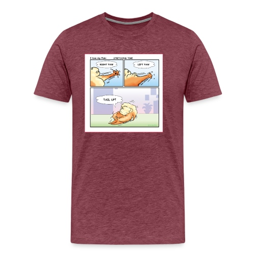 Stretching time - Maglietta Premium da uomo
