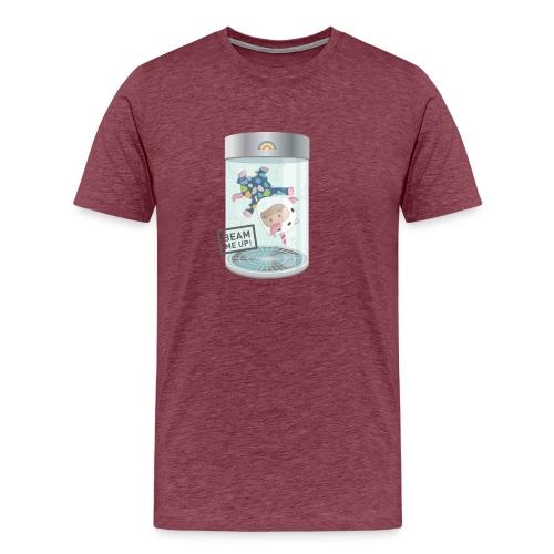 Indoorflyer - Männer Premium T-Shirt