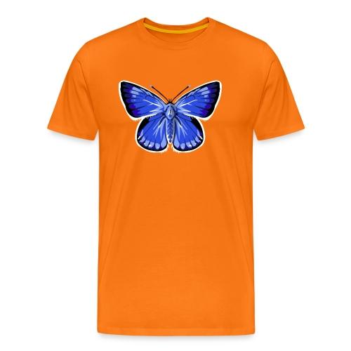 vlinder2_d - Mannen Premium T-shirt