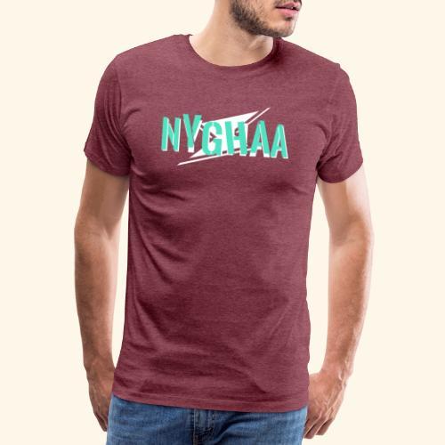 Nyghaa Logo Green - Men's Premium T-Shirt