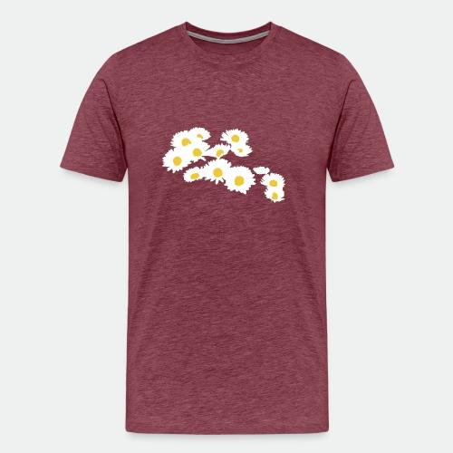 Spring Season Daisies - Men's Premium T-Shirt