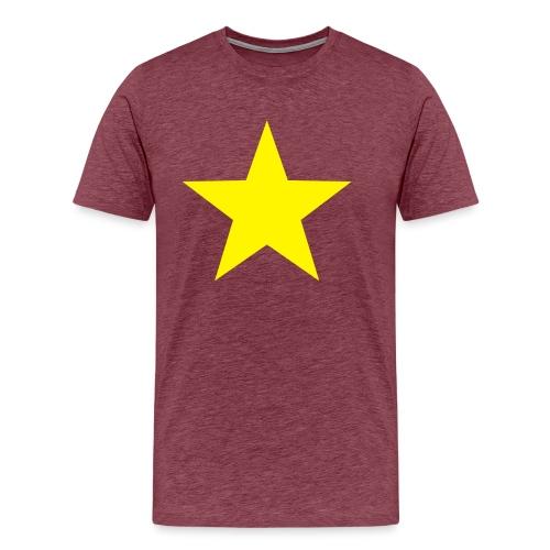 étoile couleurs modifia.. - T-shirt Premium Homme