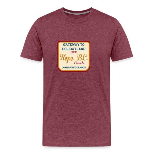 Rambo Hope Holidayland - Koszulka męska Premium