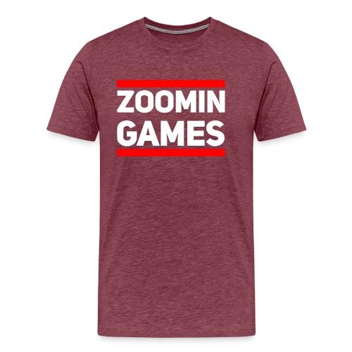 9815 2CRun ZG White - Men's Premium T-Shirt