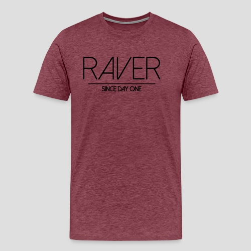 Raver since day one - Männer Premium T-Shirt