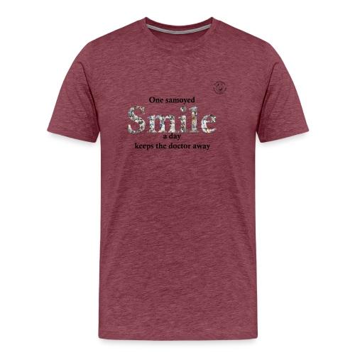 samoyedsmile - Mannen Premium T-shirt