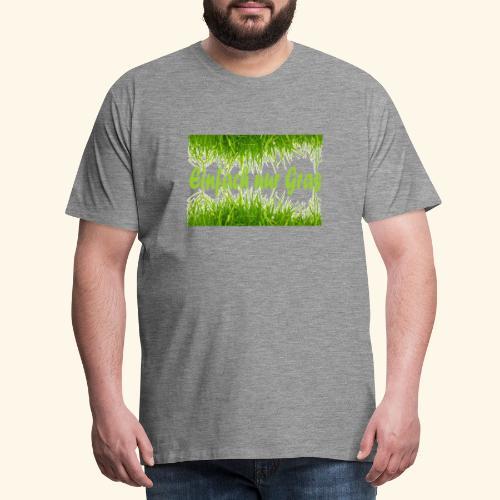 einfach nur gras2 - Männer Premium T-Shirt