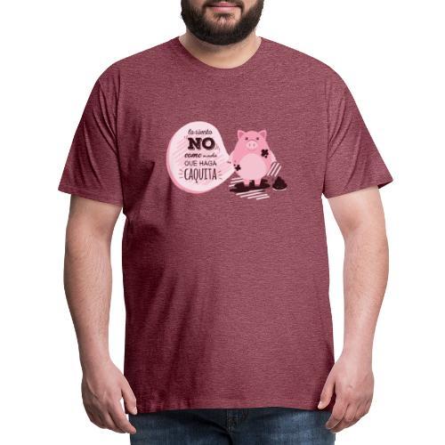 Lo siento no como nada que haga caquita - Camiseta premium hombre