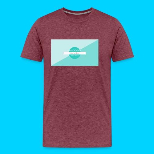 cuteOGdalle - Herre premium T-shirt
