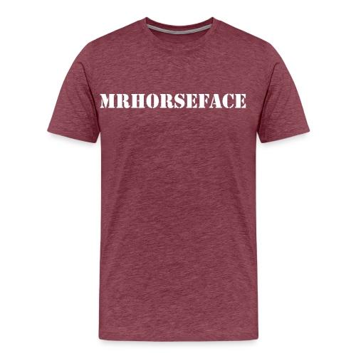 MrHorseFace - Mannen Premium T-shirt