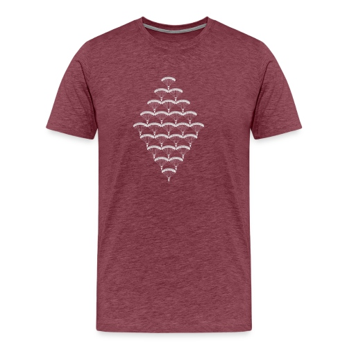 Skydive parachutiste - T-shirt Premium Homme