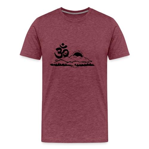 Ohm Landscape - Männer Premium T-Shirt