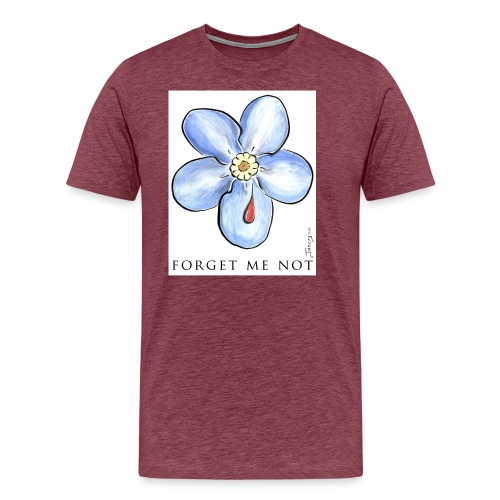 forget me not - T-shirt Premium Homme