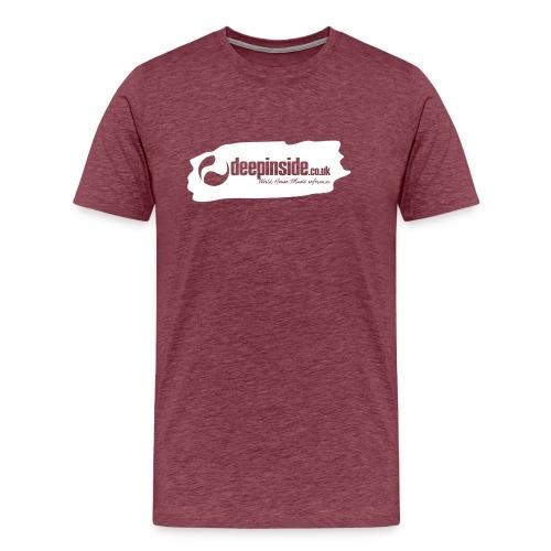 deepinside world reference marker logo white - T-shirt Premium Homme