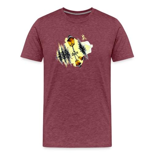 Ride Tek sable - T-shirt Premium Homme