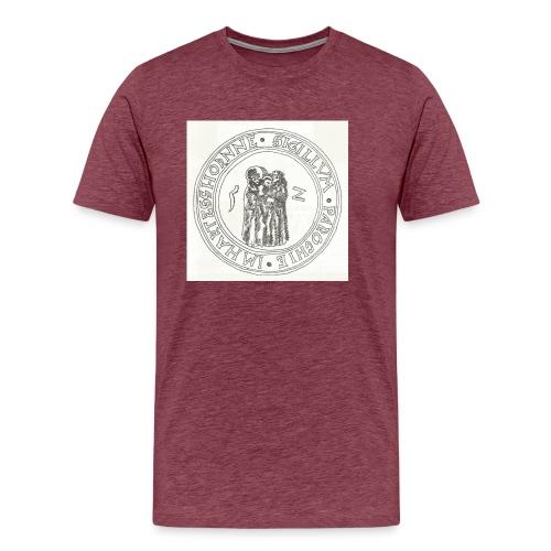 Herzhorn Siegel von 1552 - Männer Premium T-Shirt