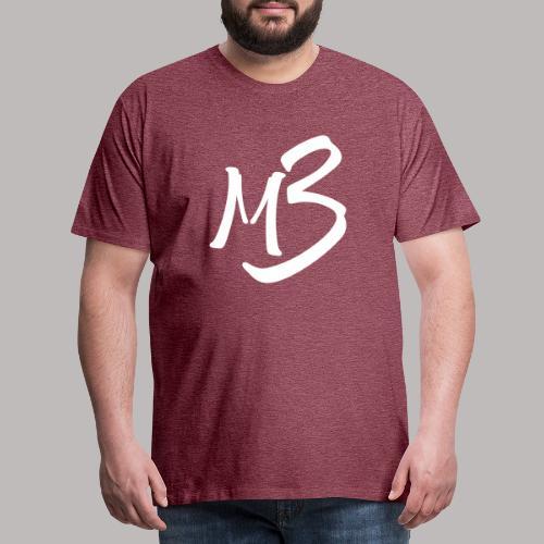 MB 13 white - Men's Premium T-Shirt