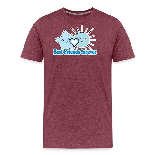 Best Friends Forever Kawaii - Männer Premium T-Shirt