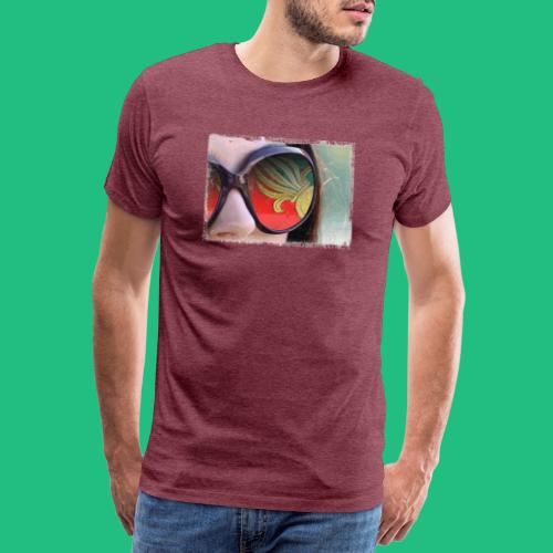 tete femme flamme legion - T-shirt Premium Homme