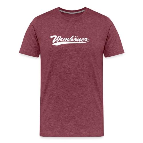 wemhoner - Men's Premium T-Shirt