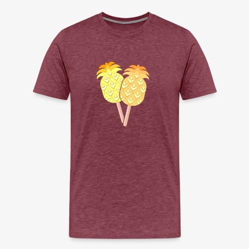 Pineapple Originals Ice Cream - Miesten premium t-paita
