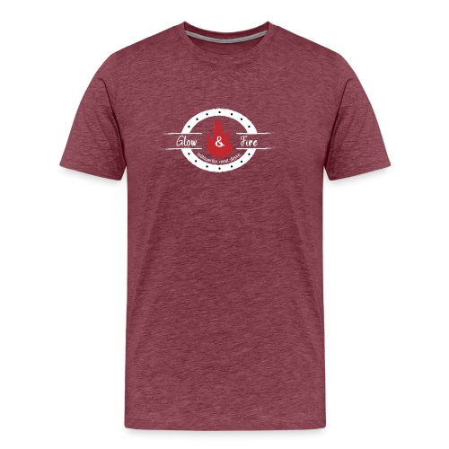Glow & Fire official-white - Männer Premium T-Shirt