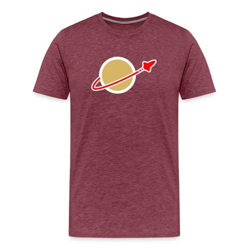 space logo clear - Männer Premium T-Shirt