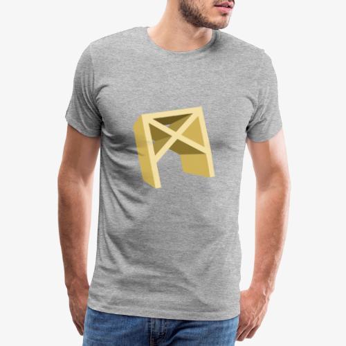 Rune Mannaz - Männer Premium T-Shirt