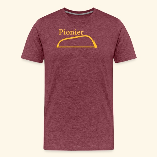 Pionier Säge - Männer Premium T-Shirt