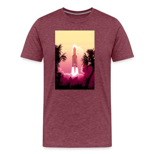 Ariane 5 by Pascal Campion - Men's Premium T-Shirt