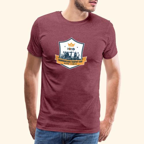 Hammarland trophy cup design updated - Premium-T-shirt herr