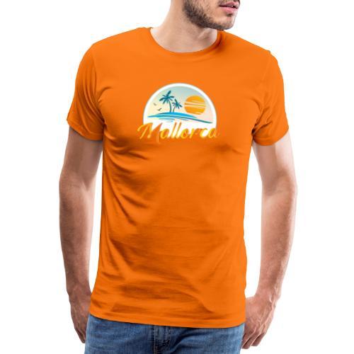 Mallorca - die goldene Insel der Lebensqualität - Männer Premium T-Shirt