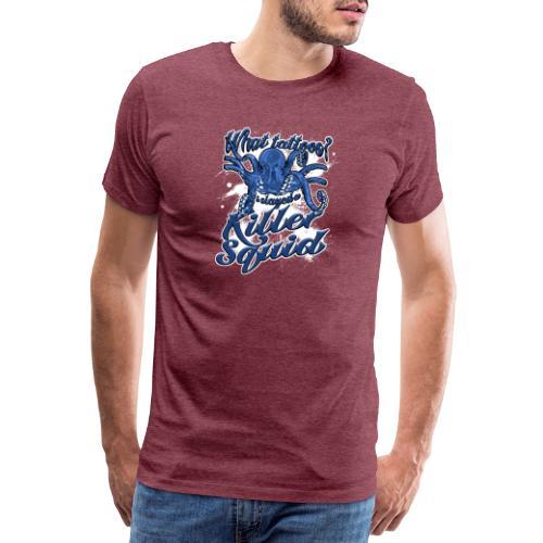 What tattoos? - Mannen Premium T-shirt