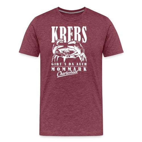 Krebs Sternzeichen Fishing Shirt - Männer Premium T-Shirt