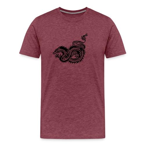 Dragon tribal mythique - T-shirt Premium Homme