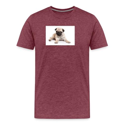 mopshond afdruk/print - Mannen Premium T-shirt