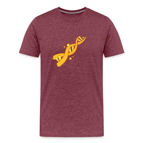 DNA (Fire Flair) - Männer Premium T-Shirt