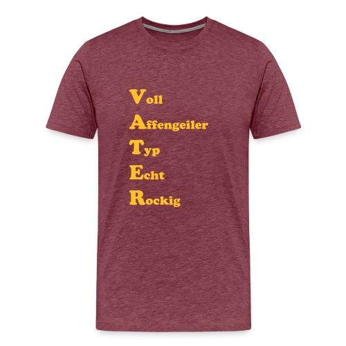 voll affengeiler typ - Männer Premium T-Shirt
