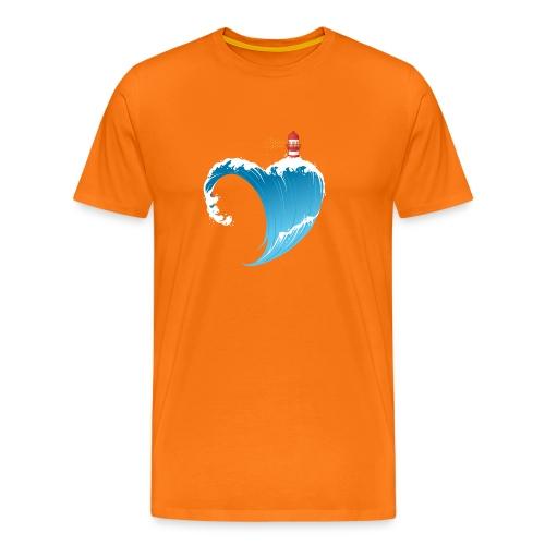 Ostseeherz - Männer Premium T-Shirt