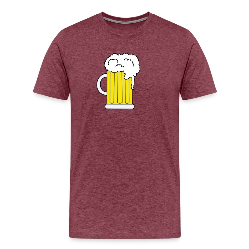 Bierkrug - Männer Premium T-Shirt
