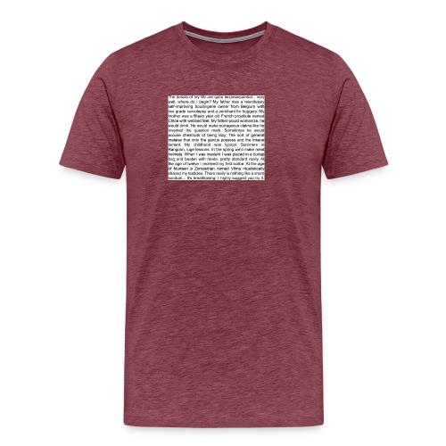 dr evil life - Men's Premium T-Shirt