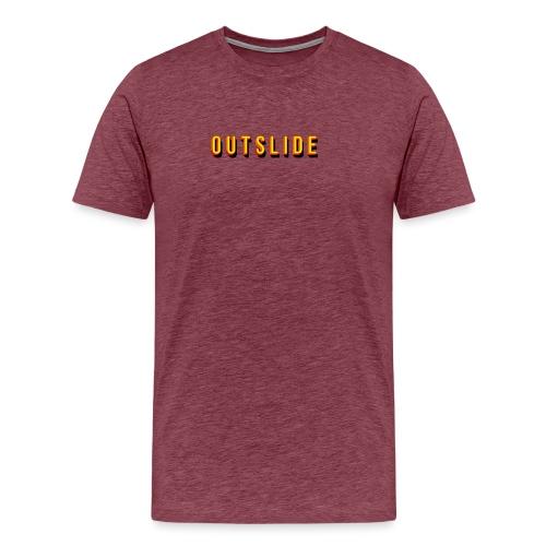 THRASHER OUTSLIDE RETRO - T-shirt Premium Homme