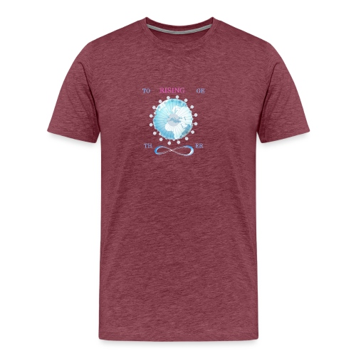 together earth rising new - Camiseta premium hombre