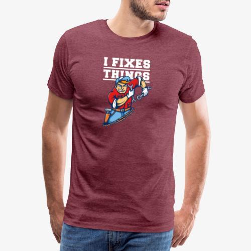 Mécanicien - T-shirt Premium Homme